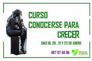 CURSO CONOCERSE PARA CRECER
