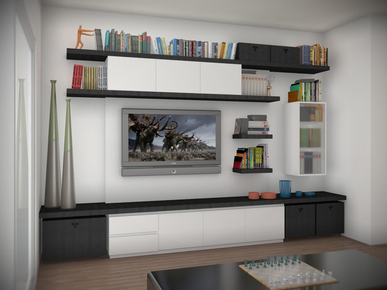Shuffle renders interiores para obra particular - Estudios de diseno de interiores ...