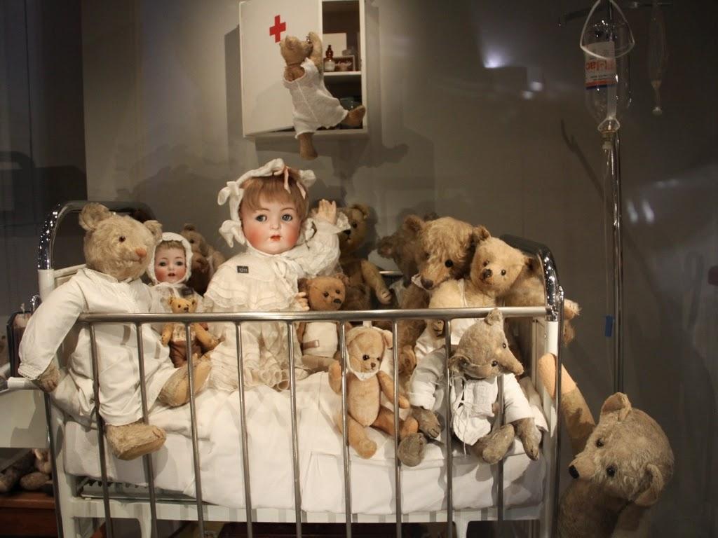 Museu de brinquedos - Casa de bonecas - Basel Suíça