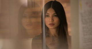 Gemma Chan, who plays 'Synth' Anita in Channel 4 & AMC's new drama, Humans.