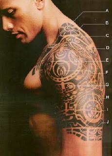 Tatuagem maori ganhou impulso e graças também ao ator Dwayne Johnson ...