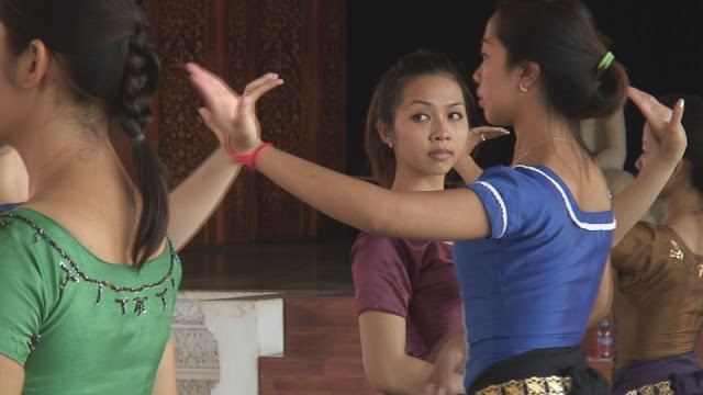Coulisses du Ballet Royal du Cambodge