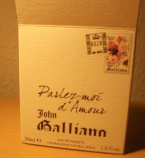 Parfém - John Galliano Parlez-moi d'Amour