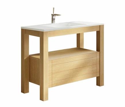 mueble bajolavado en madera