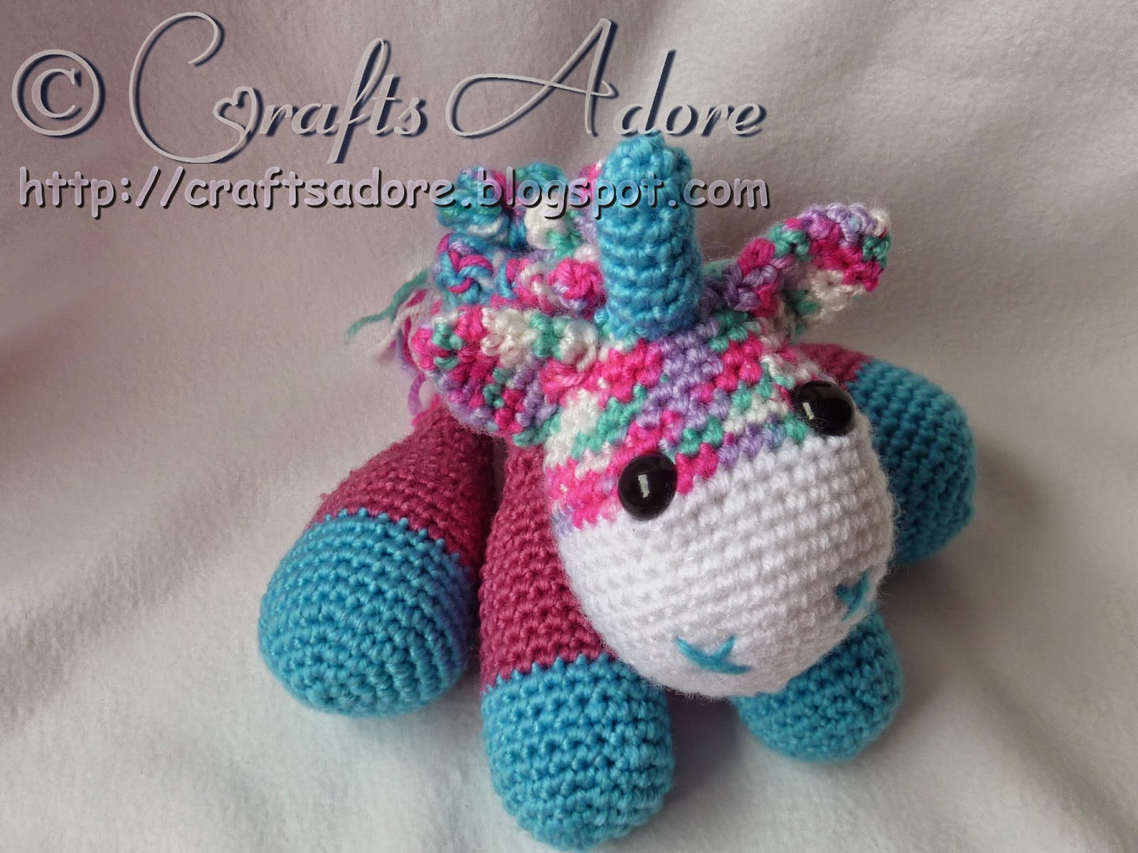 Adorable Lil' Baby Unicorn Crochet Amigurumi