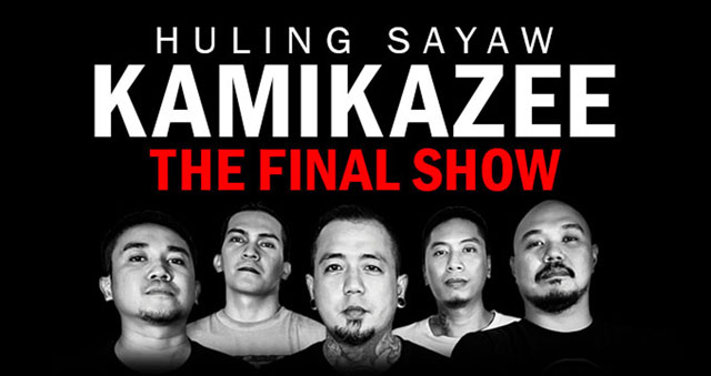 Huling Sayaw concert: Kamikazee throws in the towel after 15 years