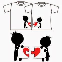 Enamorados Lembranças&Presentes: Camisetas personalizadas =)