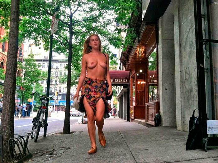 Filha de Bruce Willis, Scout Willis faz topless como forma de protesto contra o Instagram
