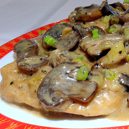 One Perfect Bite: Quick and Creamy Chicken Marsala