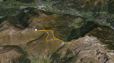 GPS Tatschspitze Montaccio di Pennes