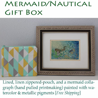 Mermaid/Nautical Giftbox