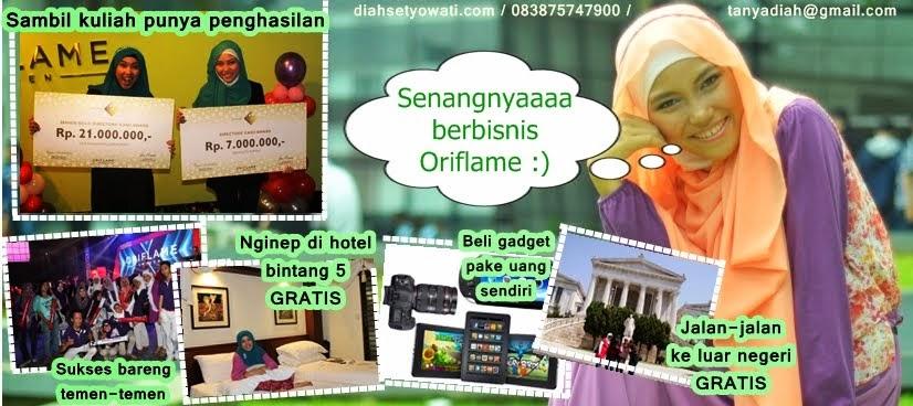 Make Up I Hijab I Oriflame Online Diah Setyowati
