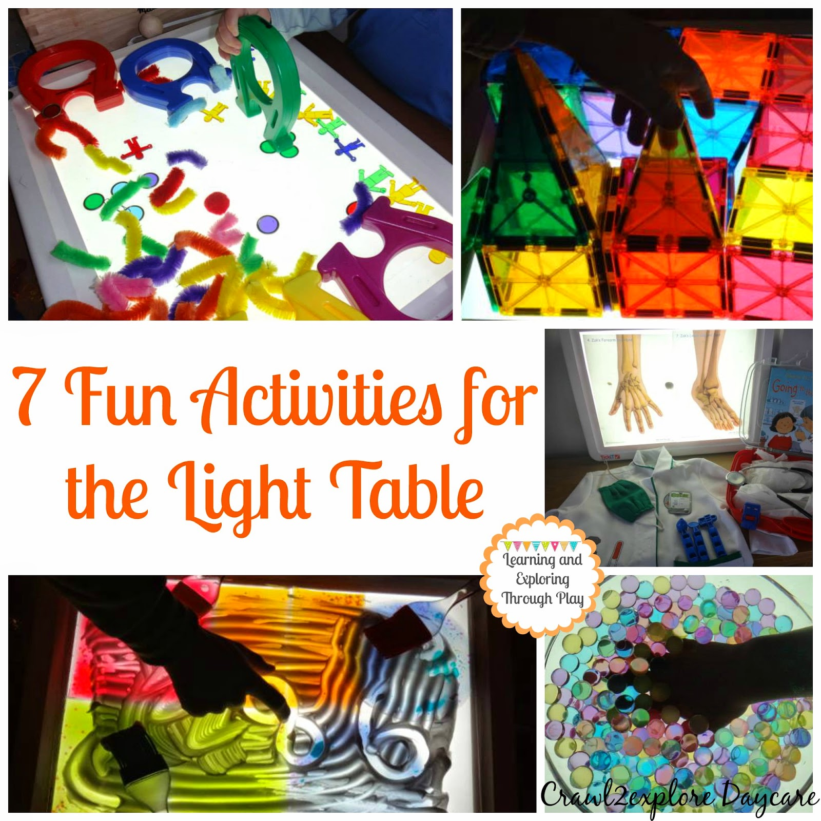 Learning and Exploring Through Play 20 Activities for the Light Table