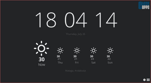 Currently,hora,tiempo,weather,time,Chrome,Google,Tab