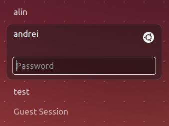 Ubuntu LightDM Unity Greeter