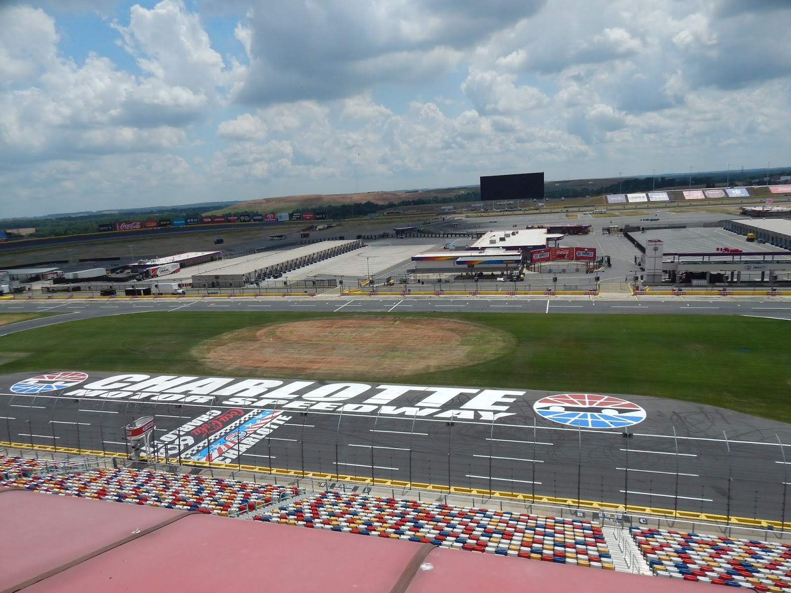 Charlotte motor speedway seating for Tickets to charlotte motor speedway