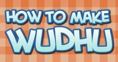 how to make wudu for kids