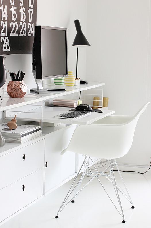 nordisk inspirasjon kontor kreativ i tet. Black Bedroom Furniture Sets. Home Design Ideas