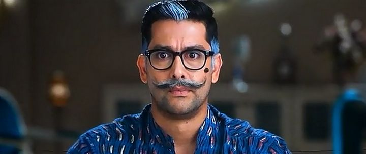 Screen Shot Of Hindi Movie Watch Online Kyaa Kool Hain Hum 3 300MB DVDScr Full Movie Free Download