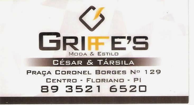 GRIFFE'S - MODA & ESTILO