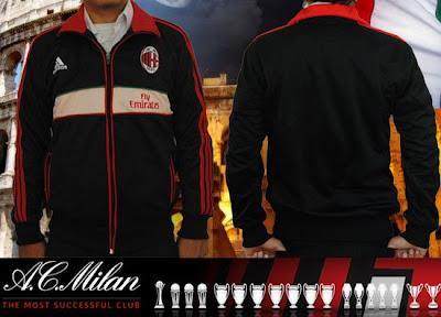 Jual Jaket Ac Milan Home 2012-2013
