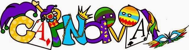 COSILLAS DE INFANTIL: Letras de Carnaval para colorear