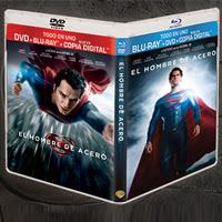 El Hombre de Acero, Blu-ray Gratis
