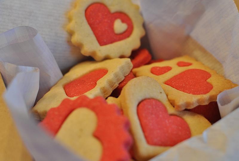 Susse Kreativitat Kekse Zum Valentinstag