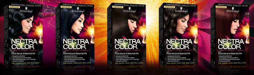 er zijn maar liefst 17 verschillende tinten verkrijgbaar aangezien mijn haarkleur ook weer bijna is vervaagd n met een nieuw seizoen voor de deur - Nectra Color Schwarzkopf