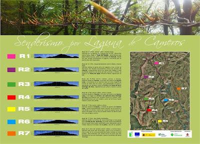 Laguna de Cameros: Rutas de senderismo circulares señalizadas