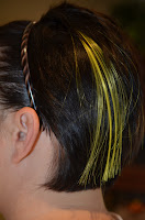 Neon Yellow extensions