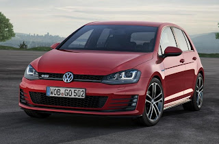 Volkswagen Golf GTD (2013) Front Side