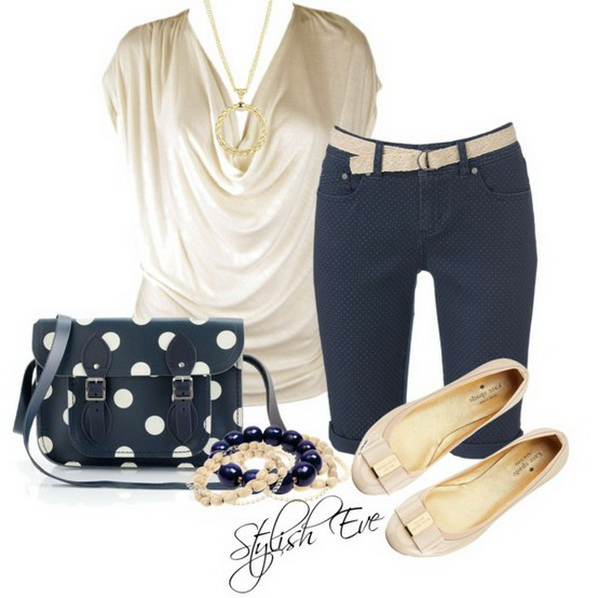 blue spring summer 2013 outfits for women stylish