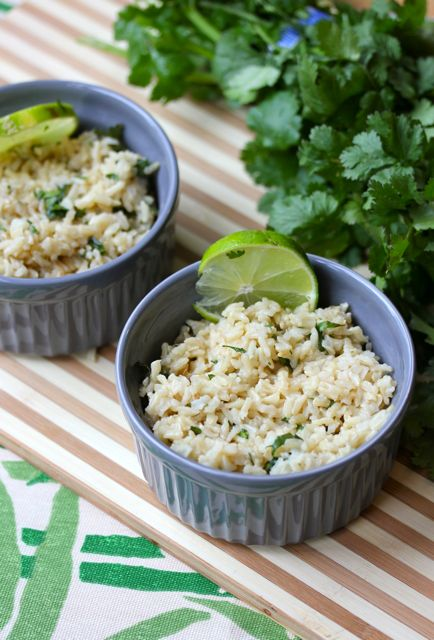 cilantro lime rice healthy