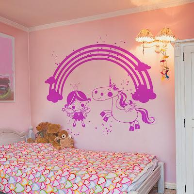 papel pintado vinilos infantiles para paredes