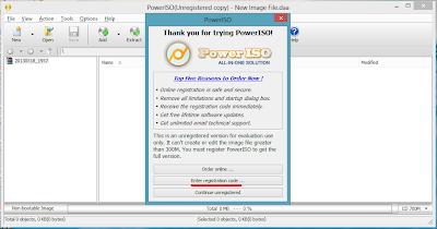 Registrasi Power ISO