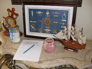 Nautical Baby Shower: My First Ever