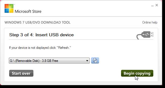 Hướng dẫn tạo USB cài windows 7 8