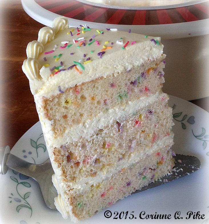 Heart Of Mary Funfetti Chiffon Cake