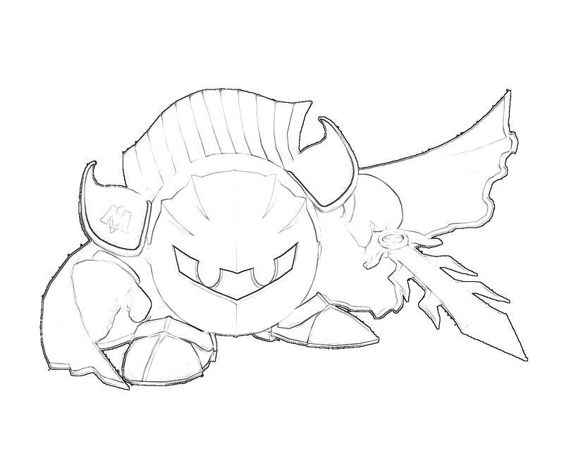 Meta Knight Sketch Temtodasas