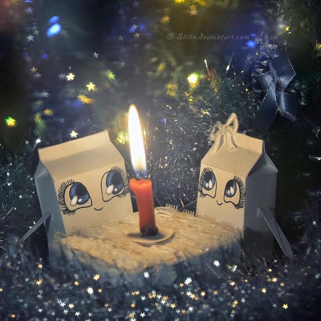 """""""Milky Photo"""" Cajas de leche con emociones 31"""
