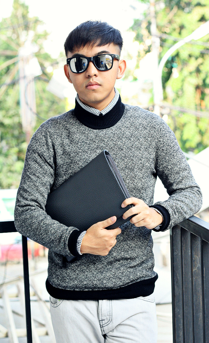 MEN'S FASHION BLOGGER INDONESIA IN CALVIN KLEIN