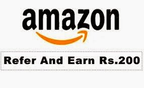 Sign up at Amazon.in Refer & Earn Rs.200 for each friend.