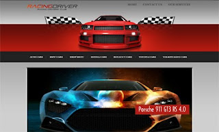 Racing Driver WordPress Theme