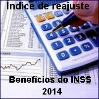 Reajuste do INSS 2014, Previdência, Aposentadorias e pensões