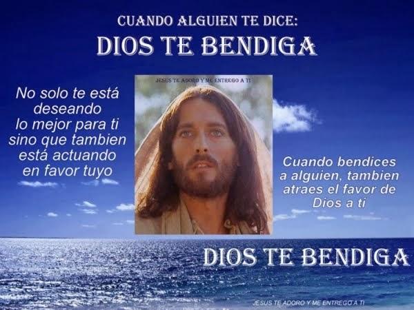 ¡Dios te bendiga!