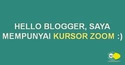 membuat icon zoom di gambar blog