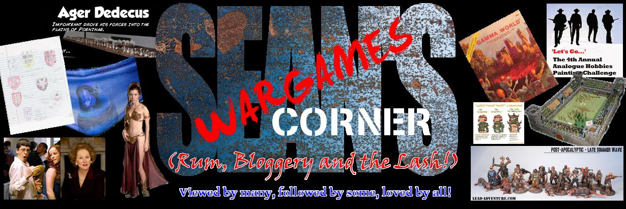 Sean's Wargames Corner