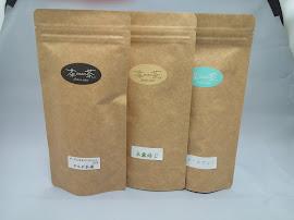茶sasa茶の茶葉たちです