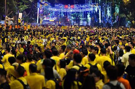 Nih Uniknya Foto-Foto Ujuk Rasa Bersih 4.0 di Kuala Lumpur 2015, Tuntut PM Malaysia Najib Razak Mundur